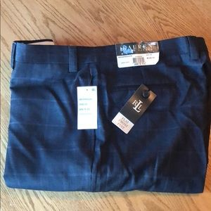 Ralph Lauren men's dress pants 38x32 Charcoal